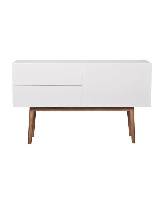 High On Wood - Sideboard mit 1 Türe und 2 Schubladen
