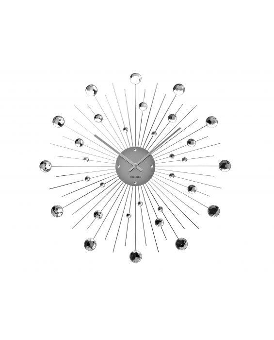 Sunburst Kristall - Wanduhr