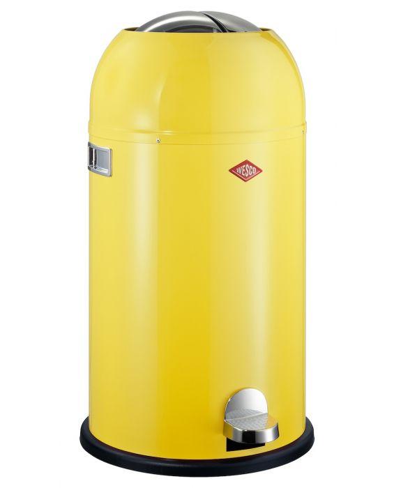 Kickmaster - 33 Liter - Mülleimer- Lemonyellow