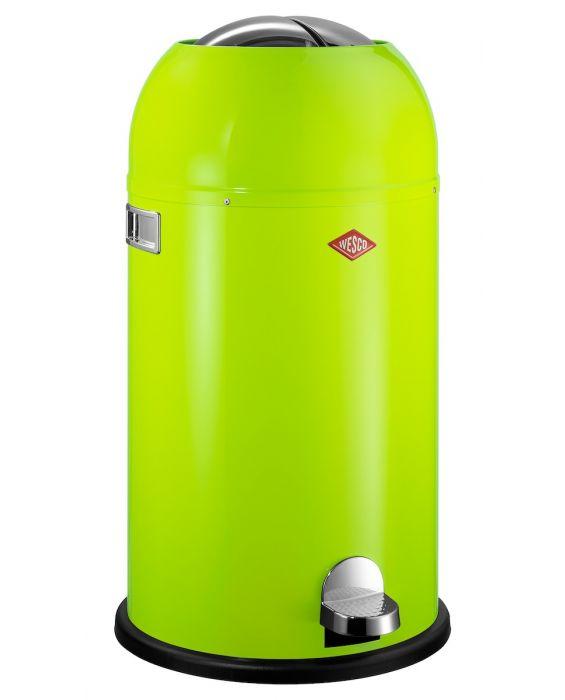 Kickmaster - 33 Liter - Mülleimer - Limegreen