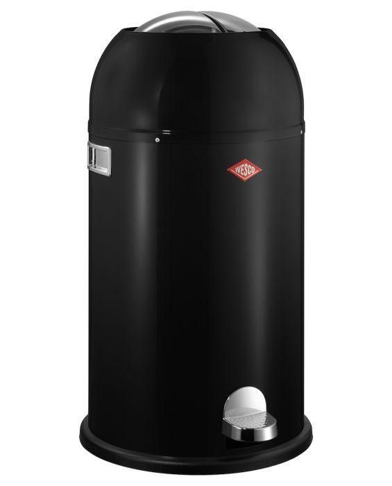 Kickmaster - 33 Liter - Mülleimer - Schwarz