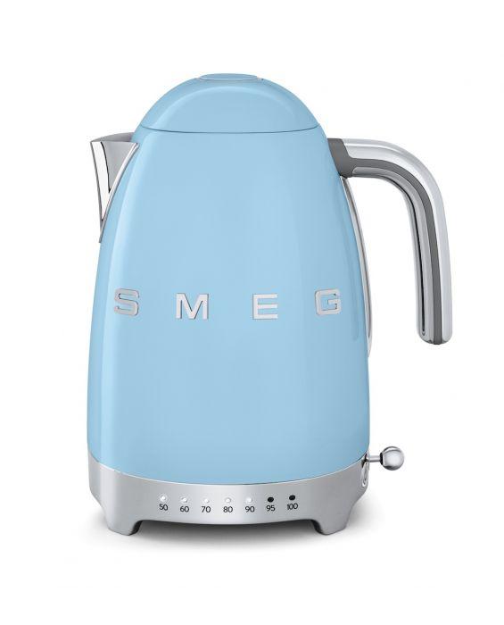 Wasserkocher (variable Temp.) -  Pastellblau
