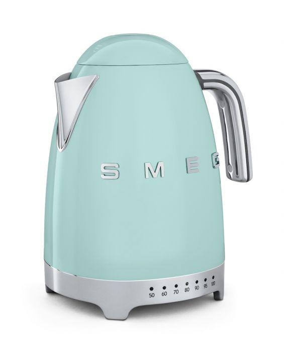 Smeg Wasserkocher (variable Temp.) KLF04PGEU - Pastellgrün