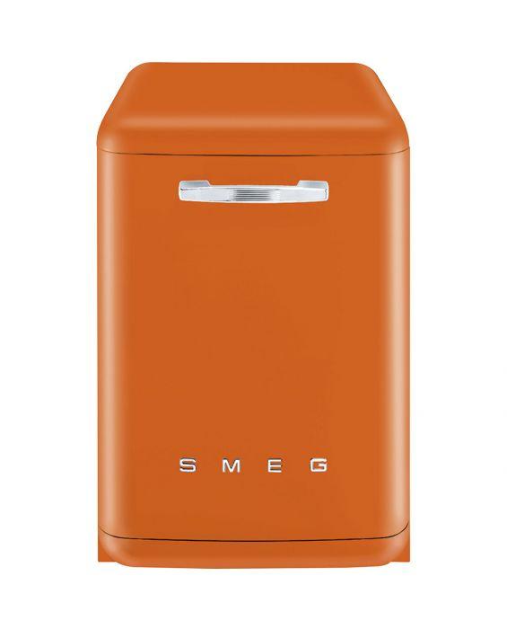 Smeg LVFABOR - Stand Geschirrspüler - Orange