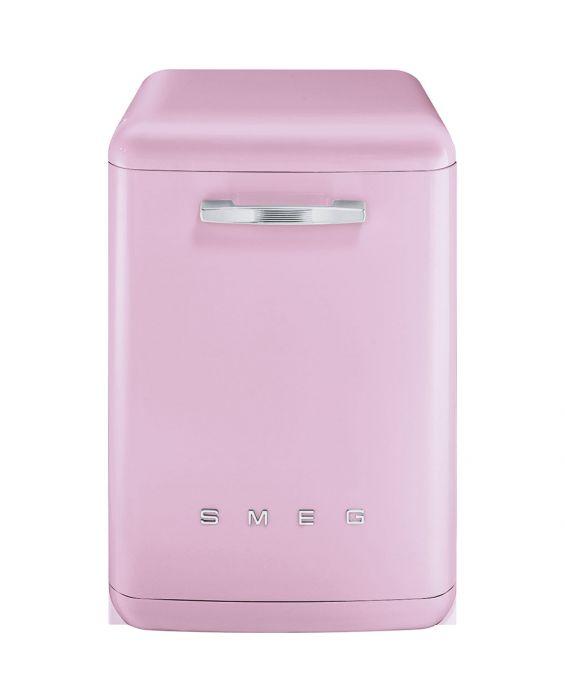 Smeg LVFABPK - Stand Geschirrspüler - Cadillac Pink