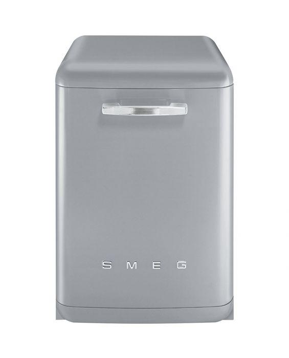 Smeg LVFABSV - Stand Geschirrspüler - Pol. Metallic