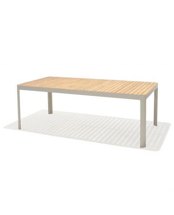 Gartentisch - Salina 210 cm - Hellgrau
