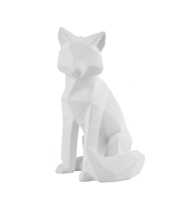 Origami - Fuchs - Groß - Weiß