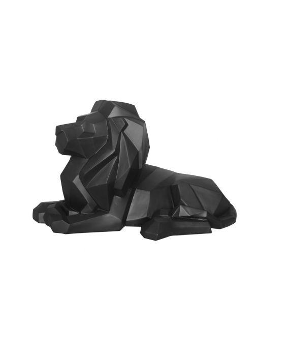 Origami - Löwe - Schwarz