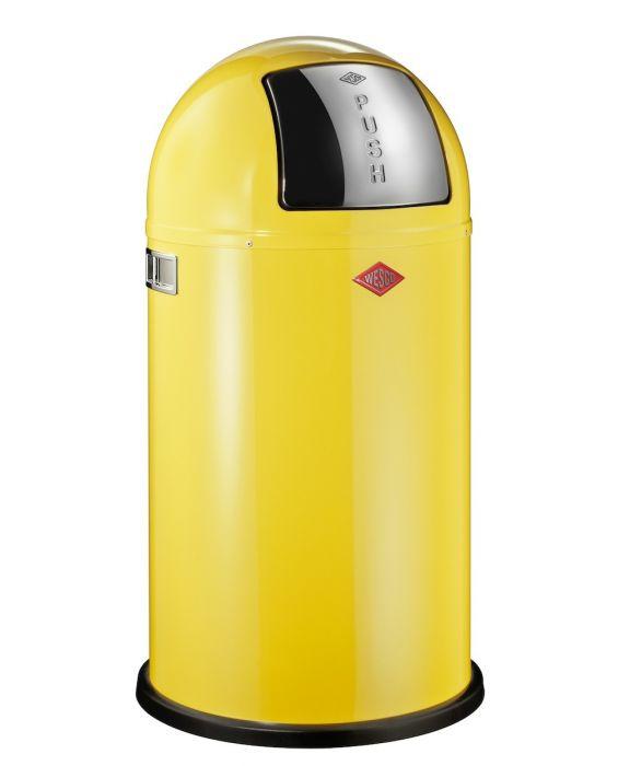 Pushboy Jun. - 22 Liter - Mülleimer - Lemonyellow