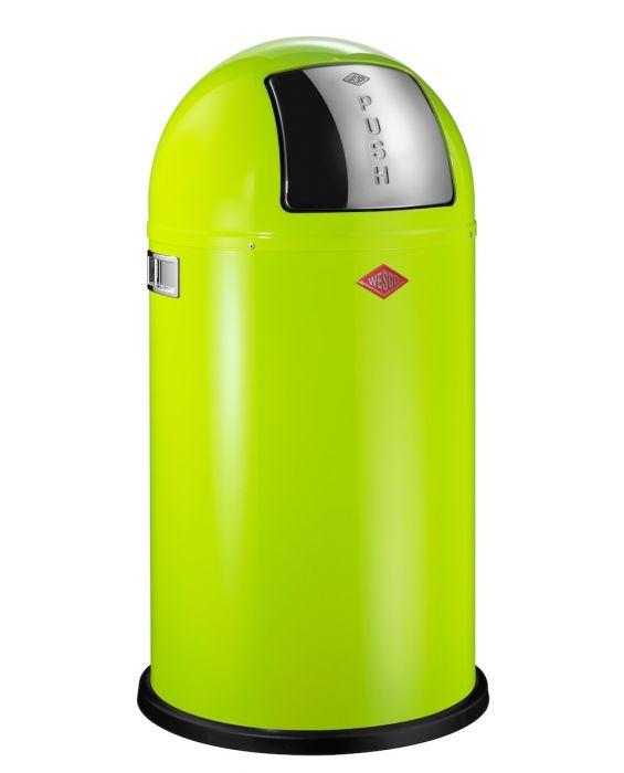 Pushboy - 50 Liter - Mülleimer - Limegreen