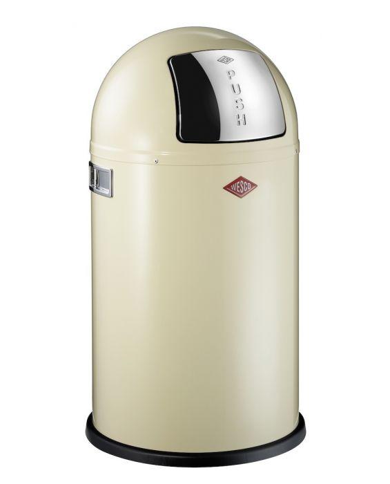 Pushboy - 50 Liter - Mülleimer - Mandel