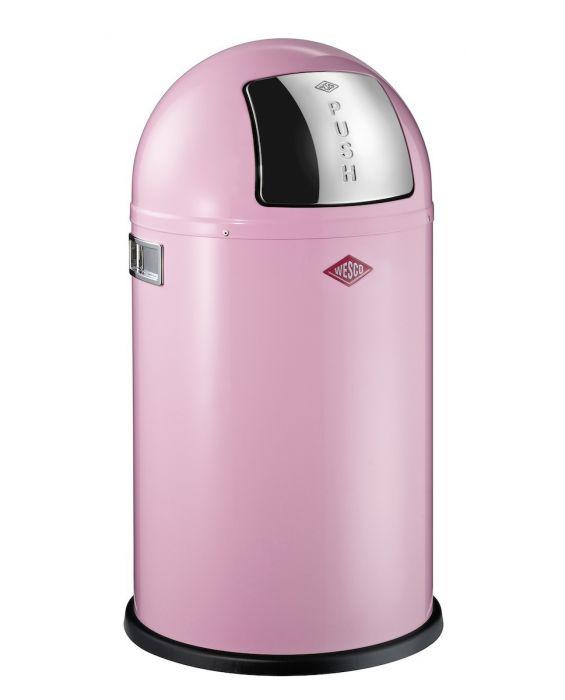 Pushboy - 50 Liter - Mülleimer - Pink