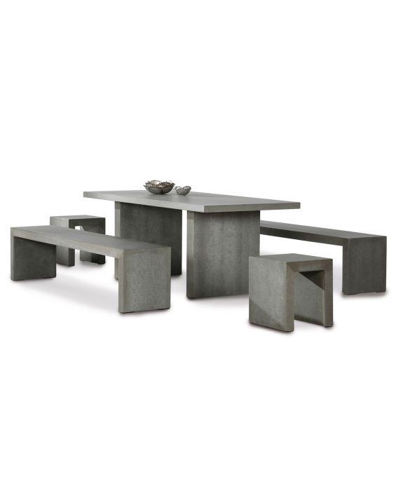 Set - Tischgruppe Rockall 200x90 cm