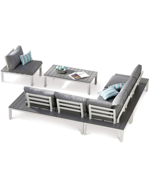 Set – Santorin Lounge – 5-teilig