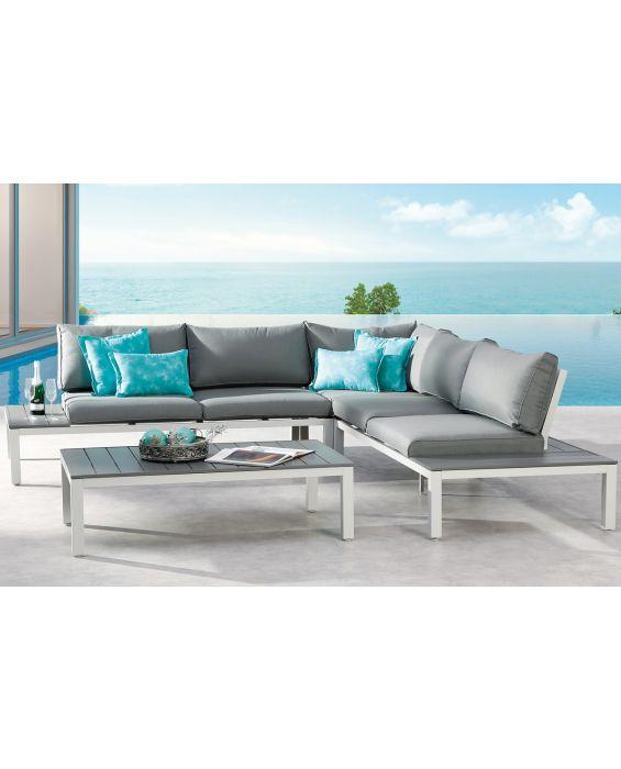 Set – Santorin Lounge – 4-teilig