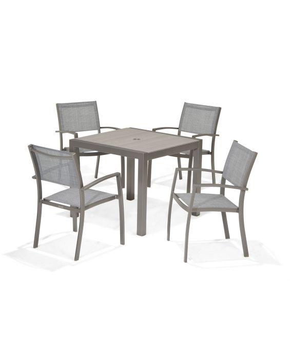 Set – Santorini Gartentisch 90x90cm