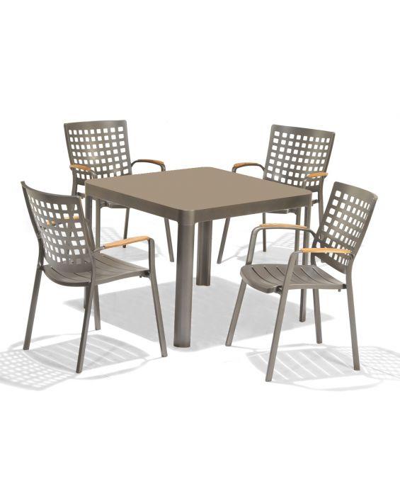 Set - Salino Gartentisch