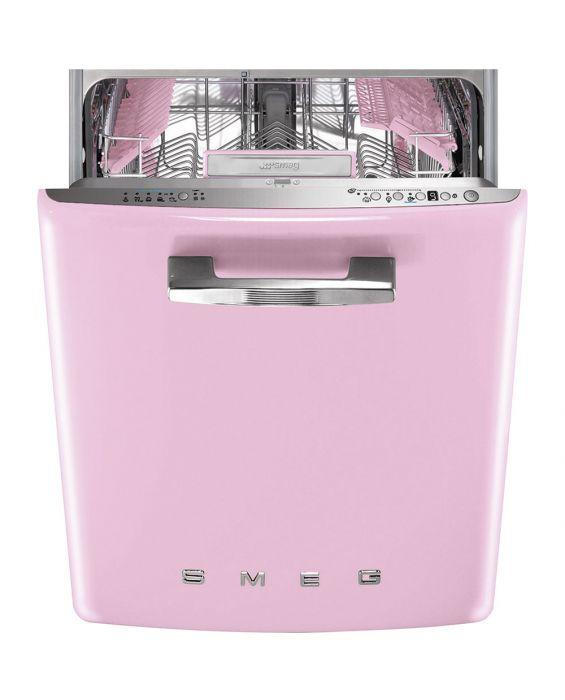 Smeg ST2FABPK  - Einbaugeschirrspüler - Pink