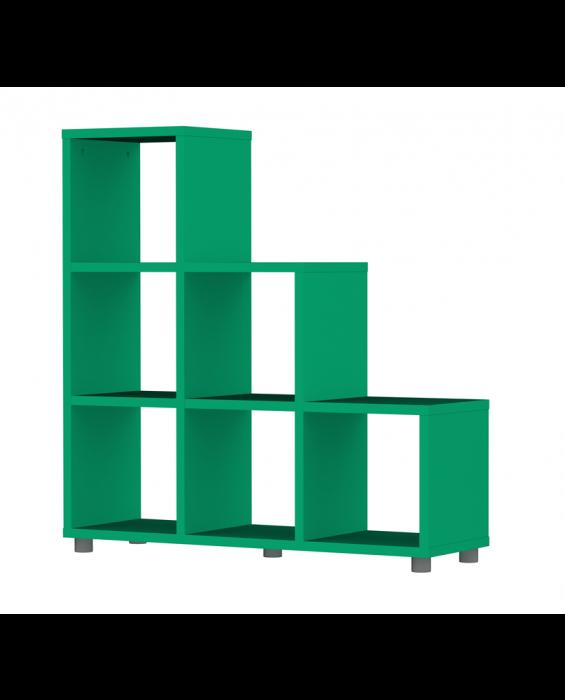 Cubo - Trip Trap Stufenregal - Grün