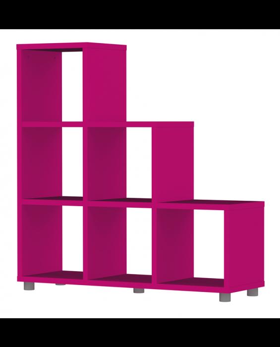 Cubo - Trip Trap Stufenregal - Violett