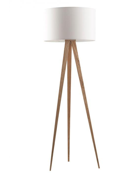 Tripod Wood - Stehlampe