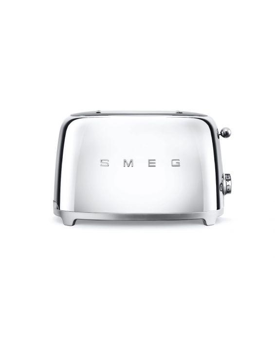 Smeg 2 Scheiben Toaster TSF01SSEU - Chrom