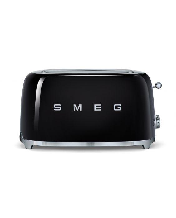 Smeg 4 Scheiben Toaster TSF02BLEU - Schwarz