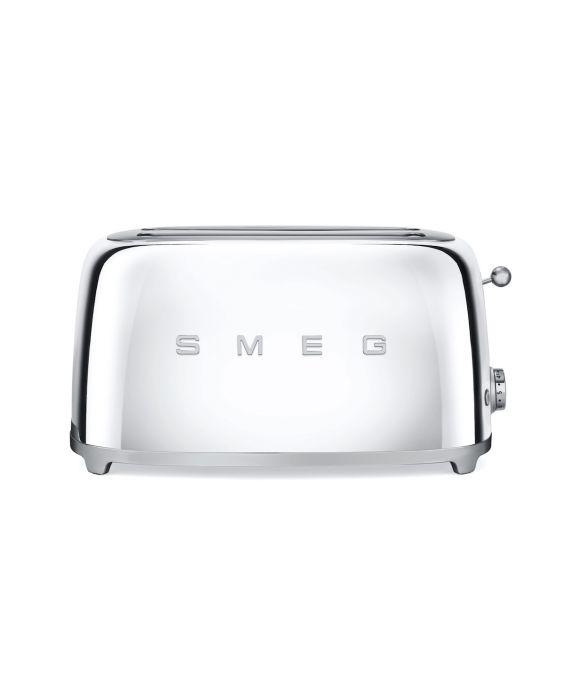 Smeg 4 Scheiben Toaster TSF02SSEU - Chrom